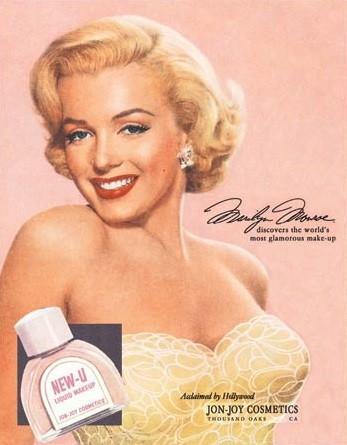 Marilyn Monroe New-U Metalplanche