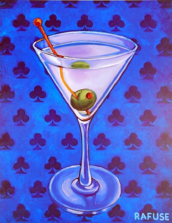 Martini Royale - Clubs Festmény reprodukció