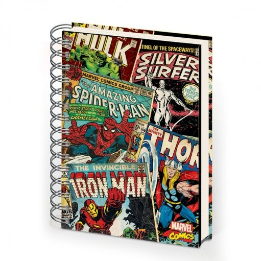 MARVEL MONTAGE - notebook A5