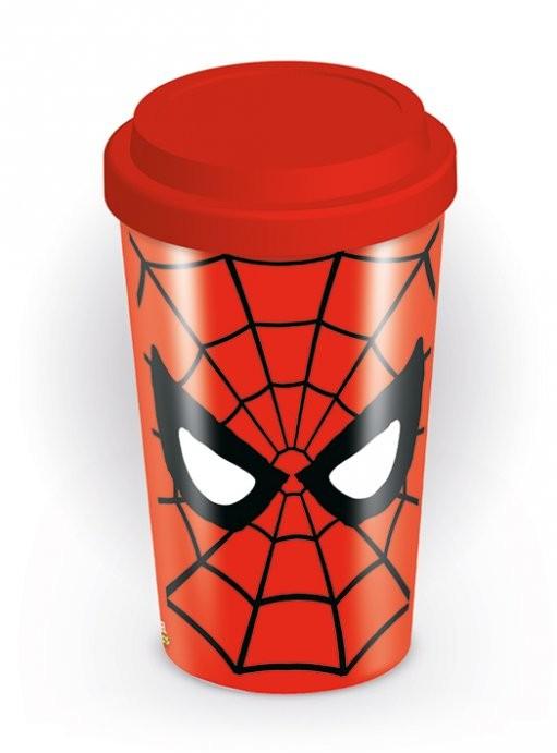 Cană pentru călătorie Marvel retro - Spider-Man Eyes