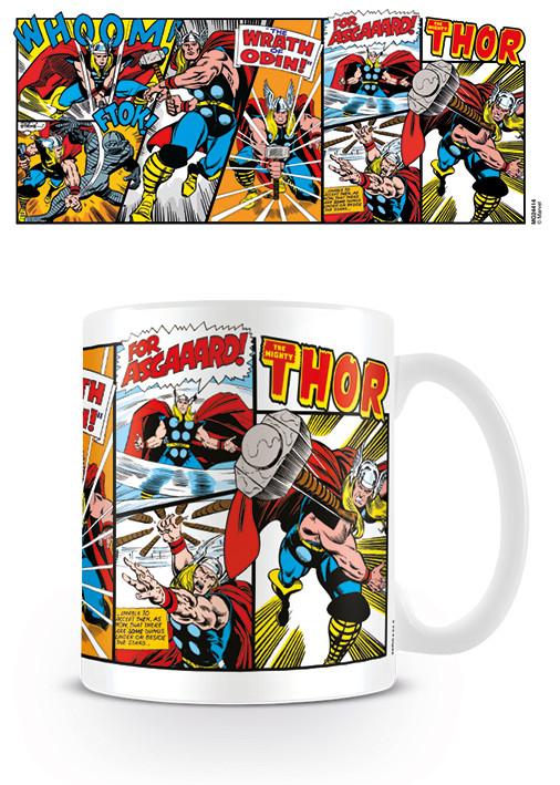 Kubek Marvel Retro - Thor Panels