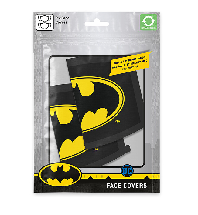 Mascarillas Batman - Logo (2 pack)