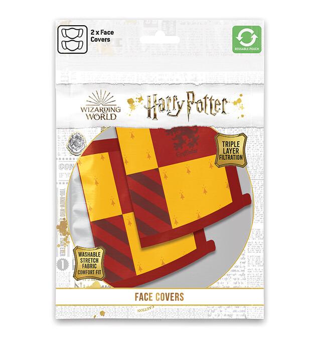Ubrania Maski Harry Potter - Gryffindor (2 pack)
