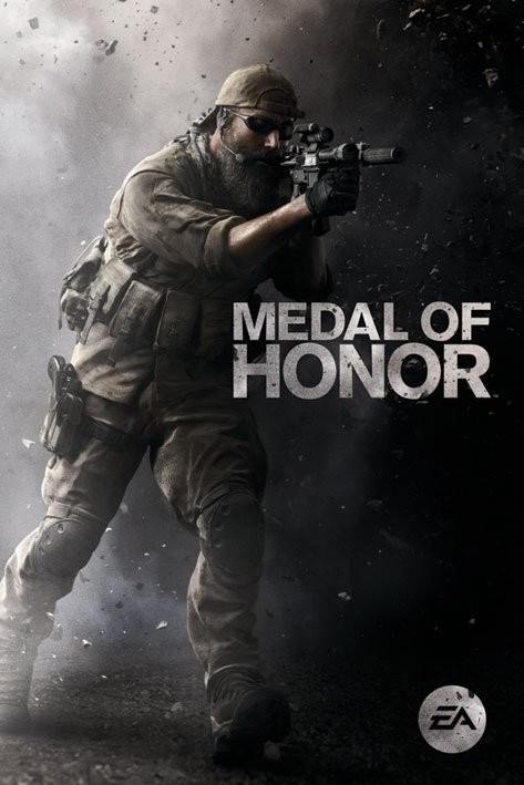 Medal of Honor - assault - плакат (poster)