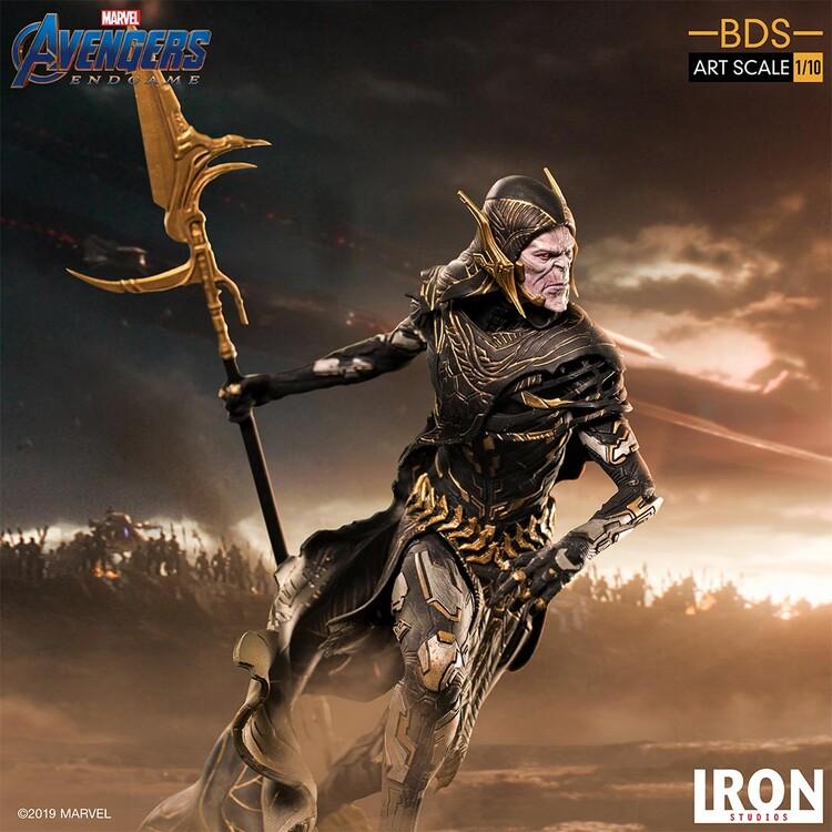 Figurita Avengers: Endgame - Black Order Corvus Glaive