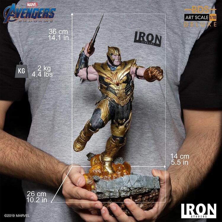 Статуетка Avengers: Endgame - Thanos (Deluxe)