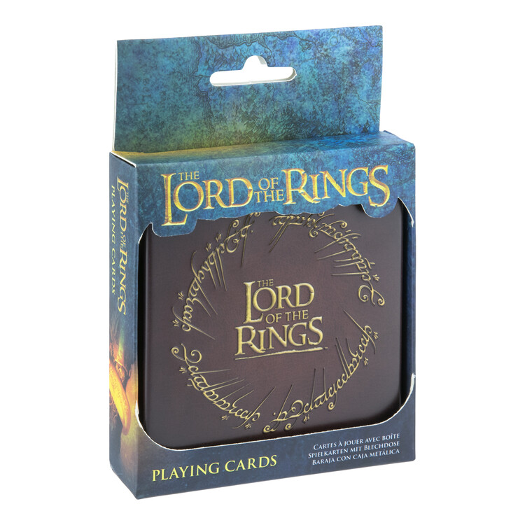 Giocando a carte - The Lord of the Rings