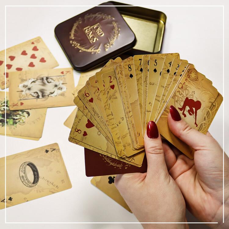 Hrací karty - Pán Prstenů