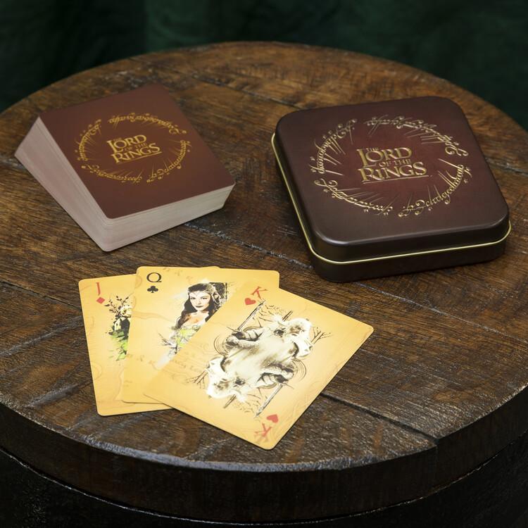 Hracie karty - Pán prsteňov