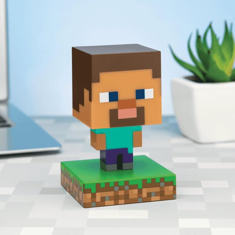 Figurină luminoasă Minecraft - Steve