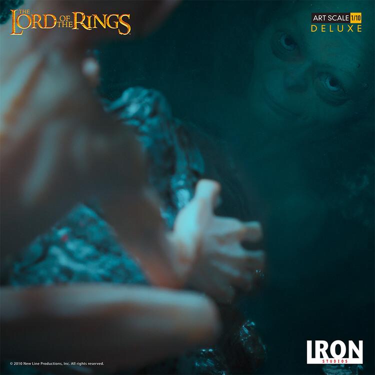Figúrka Pán prsteňov - Gollum (Deluxe)