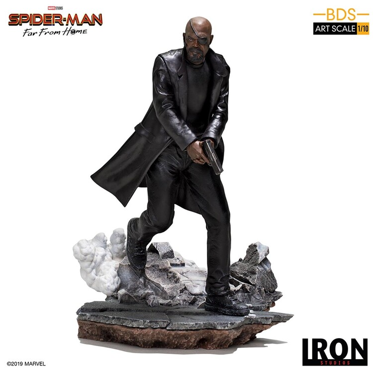 Statuetta Spiderman: Far From Home - Nick Fury