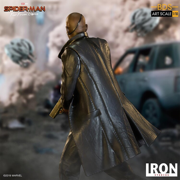 Figurita Spiderman: Far From Home - Nick Fury
