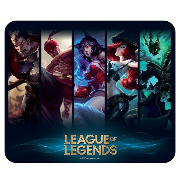 Tappetino mouse League of Legends - Champions
