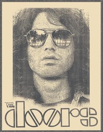 Mетална табела Doors - Morrison Shades