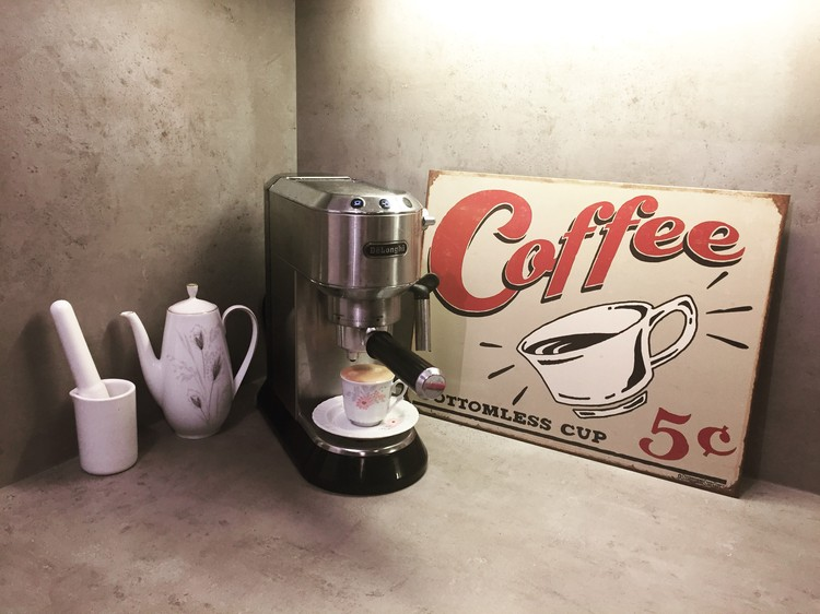 Plåtskylt SCHOENBERG - coffee scents