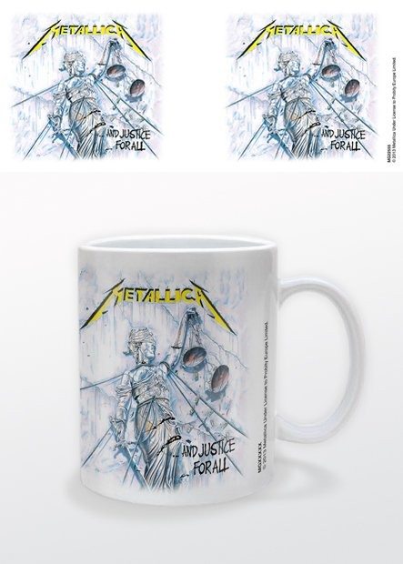 Tasse Metallica - And Justice For All