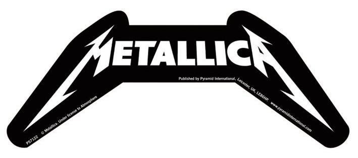 METALLICA – logo  Autocolant