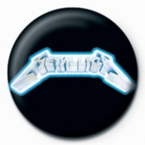 METALLICA - logo Insignă