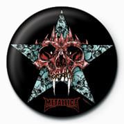 METALLICA - STAR Insignă