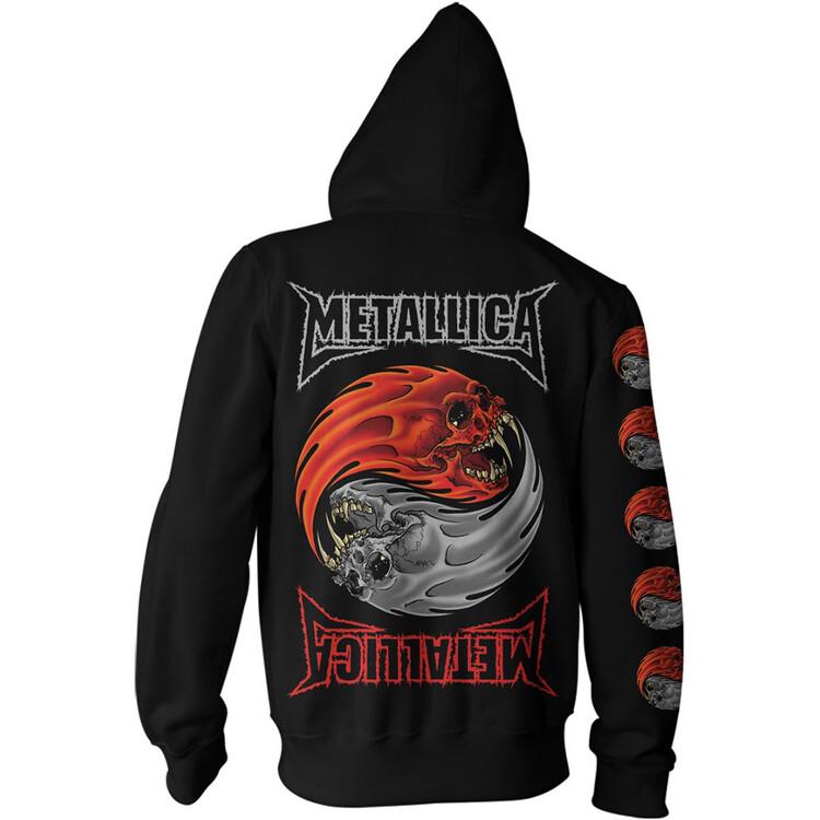 Mikina Metallica - Yin Yang