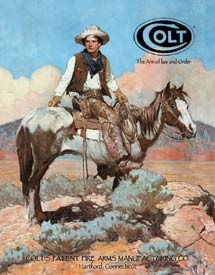 Blechschilder COLT - The Arm of law and Order