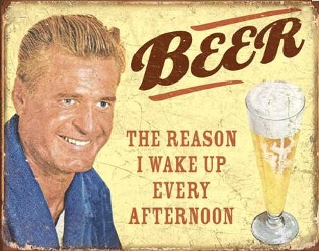 Metallschild EPHEMERA - BEER - The Reason