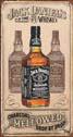 Blechschilder JACK DANIEL'S  CHARCOAL