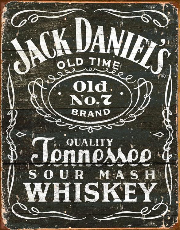 Blechschilder JACK DANIEL'S  VINTAGE LABEL