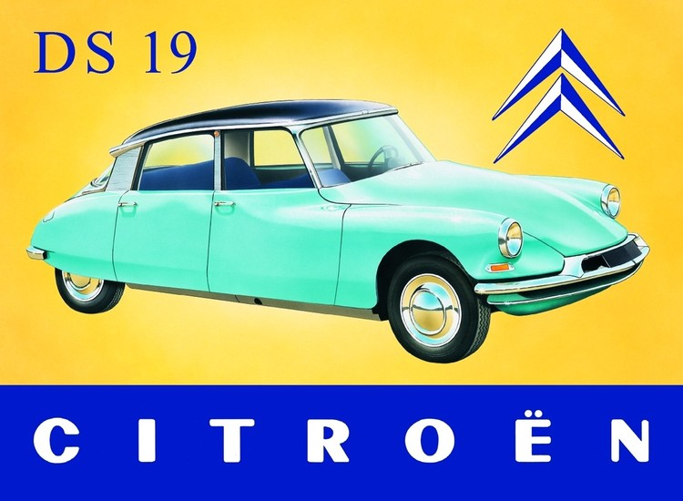 CITROËN DS Metalni znak