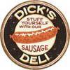 DICK'S  SAUSAGES Metalni znak