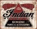 Metalowa tabliczka INDIAN GENUINE PARTS