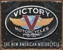 Metalowa tabliczka VICTORY MOTORCYCLES