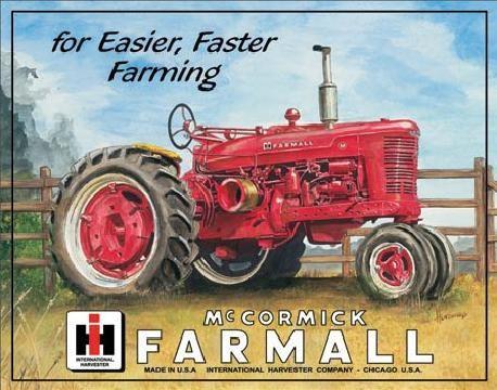 Metalskilt FARMALL - m