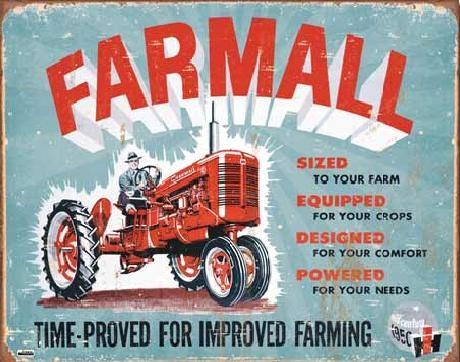 Metalskilt FARMALL - Model A
