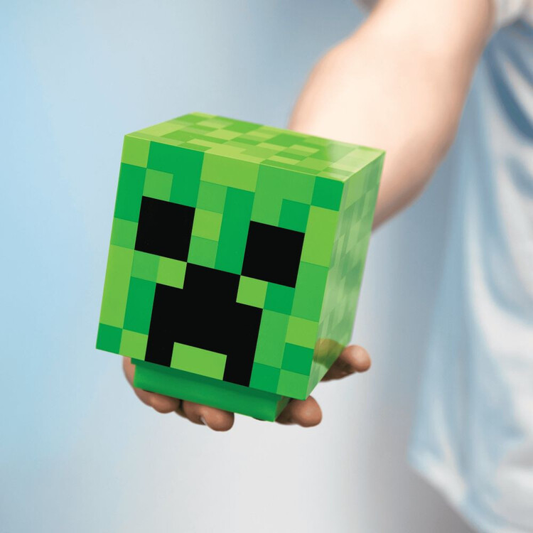 Figurine brillante Minecraft - Creeper