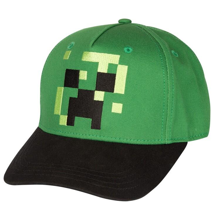 Čepice Minecraft - Pixel Creeper