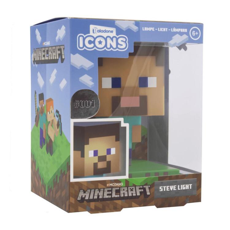 Svítící figurka Minecraft - Steve