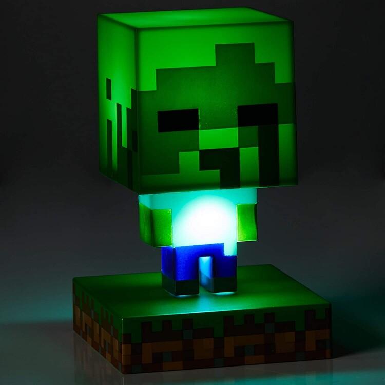 Svítící figurka Minecraft - Zombie