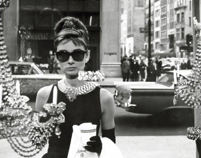 Audrey Hepburn - window Mini plakat
