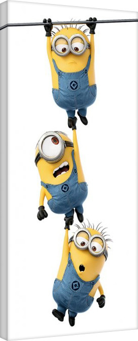 Leinwand Poster Minions (Despicable Me) - Hanging