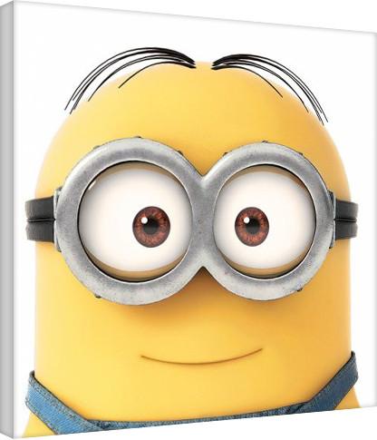 Vászon Plakát Minyonok (Gru) - Smile