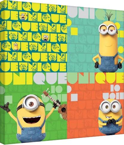 Vászon Plakát Minyonok (Gru - Unique