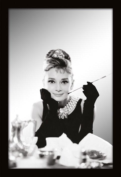 MIRRORS - audrey hepburn / breakfast