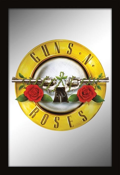 MIRRORS - guns n roses / logo