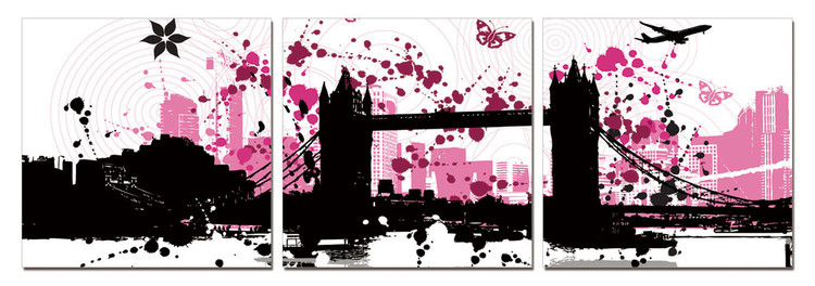 Modern Design - City Collage Moderne billede