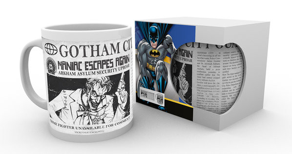 Batman Comics - Joker Wanted mok