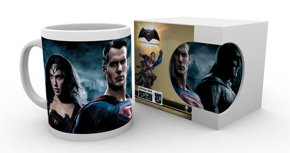 Batman v Superman: Dawn of Justice - Trio mok