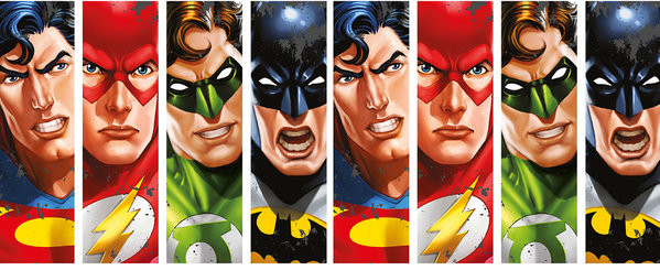 DC Comics - Justice League Faces mok