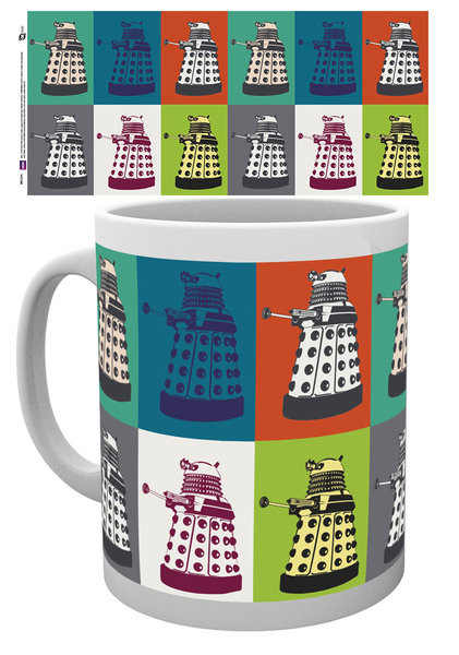 Doctor Who - Pop Art mok